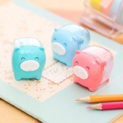 Deli Cute and Fun Piggy Pencil Sharpener