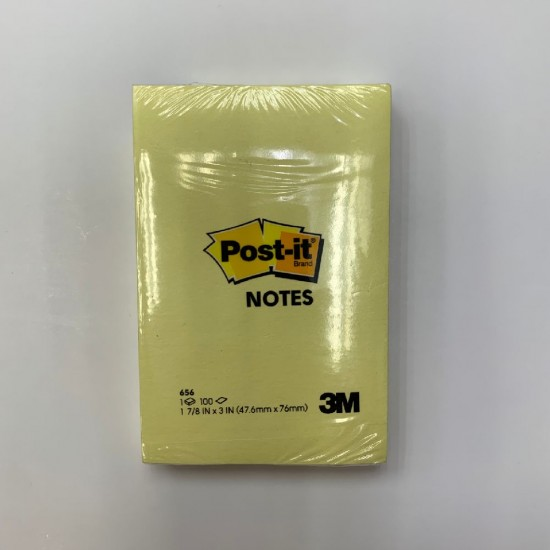 3M Post-it 656 Notes Pad
