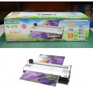 HOLLIES HL 678 3-in-1 Laminator