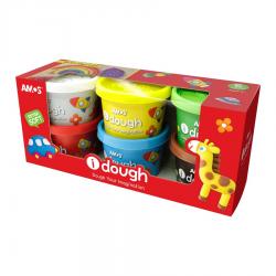 AMOS ID100P6 Dough(100g x 6colors)