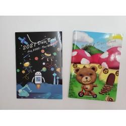 Riders 2021 Mini Datebook Cartoon Cover