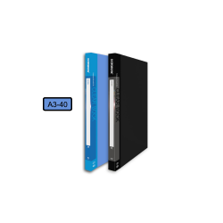 DATA BANK A3-40 A3 Clear Book , 40's