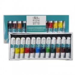 Winsor & Newton Junior Acrylic Colour 12 tubes set-10ml