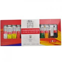 Winsor & Newton Fine Oil Colour 12 tubes set-12ml