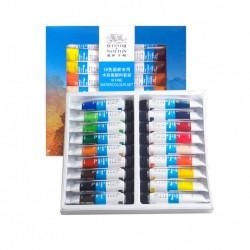 Winsor & Newton Watercolour 18 tubes set-10ml