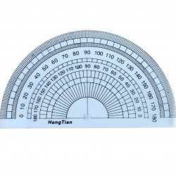 Hang Tian 180 Degree Protractor