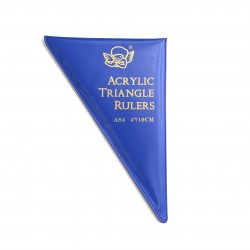 Acrylic triangle rulers
