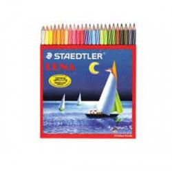 STAEDTLER WATERSOLUBLE COLOUR PENCILS 12 COLORS