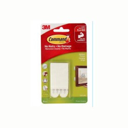 Command™ Medium Picture Hanging Strips 17201-4PK