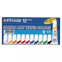 SAKURA Mat Watercolor 12 Colors