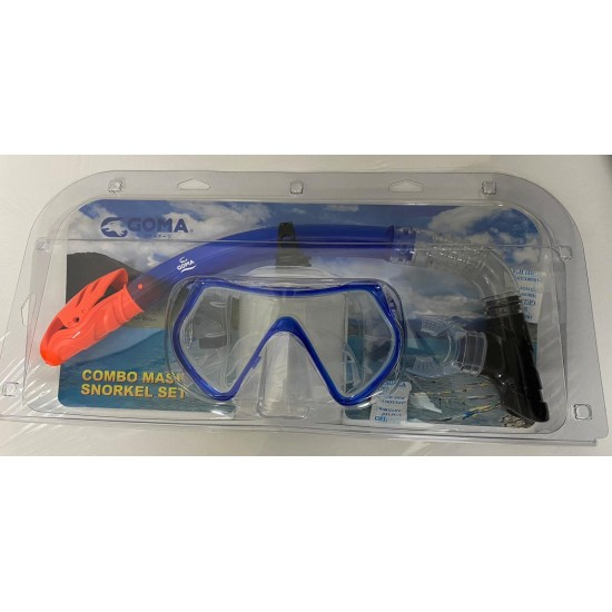 GOMA Combo Mask & Snorkel Set for Adult