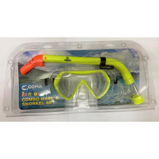 GOMA Junior Combo Mask & Snorkel Set