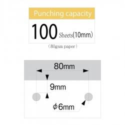 CARL Heavy Duty Punch HD-410N