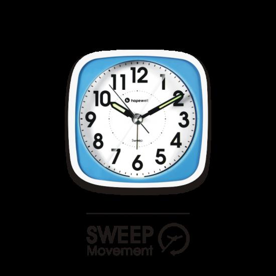 Hopewell AN-38S Sweep Alarm Clock (Dual Colour)