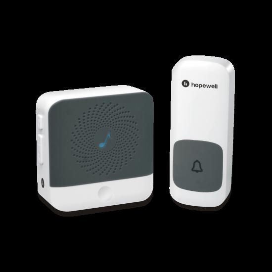 Hopewell 300m ULTRA Mini Plug-In Wireless Doorbell