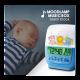 Hopewell DG-988 Moonlamp Music Box Alarm Clock
