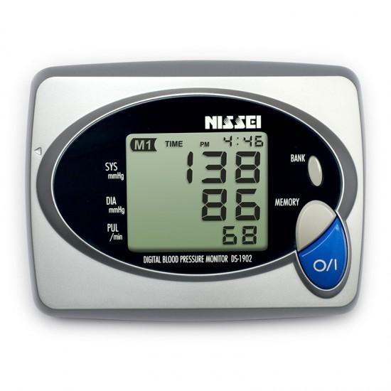 NISSEI DS-1902 Digital Blood Pressure Monitor (5 Yr Warranty | Made in Japan)