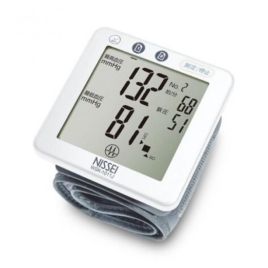 NISSEI WSK-1011J Wrist Blood Pressure Monitor