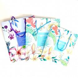 Flower garden paper bag